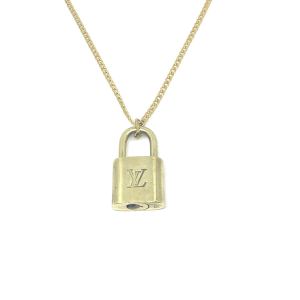 Necklace Padlock with single chain NO KEY