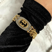 Load image into Gallery viewer, Repurposed Gucci Pendant- Bracelet