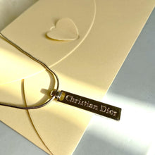 Load image into Gallery viewer, Authentic Dior CD Vintage Necklace