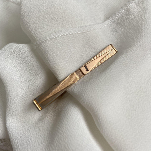 Authentic Vintage Christian YSL Hair Clip