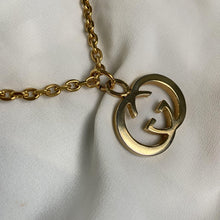 Load image into Gallery viewer, Repurposed Gucci Pendant- Necklace
