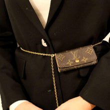 Load image into Gallery viewer, Authentic Preowned Louis Vuitton Key Case Repurposed Waist Belt