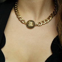 Load image into Gallery viewer, Gift Edition - Authentic Chanel Pendant Repurposed Choker Necklace - Boutique SecondLife