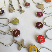 Load image into Gallery viewer, Reworked Logo bordeaux Necklace