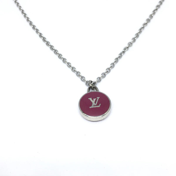 Reworked Logo bordeaux Necklace