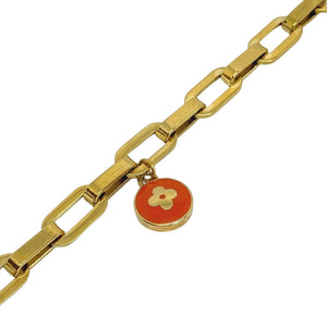 Authentic Louis Vuitton Tangerine Pendant- Bracelet