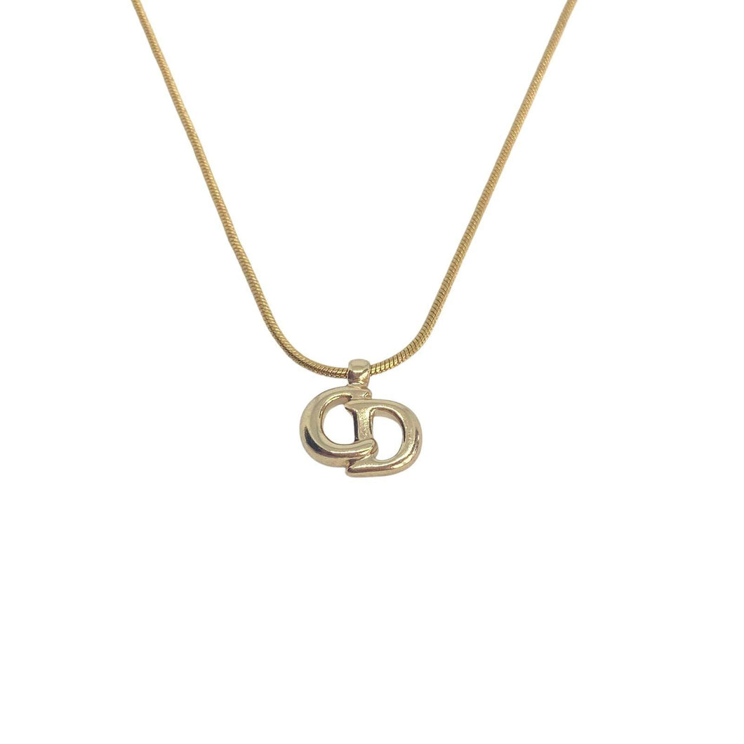 Authentic  CD Dior pendant - Reworked Necklace