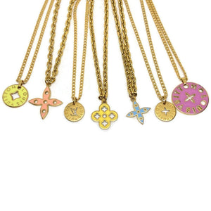 Authentic Medium Louis Vuitton Looping Charm- Necklace