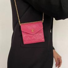 Load image into Gallery viewer, Authentic Preowned Chanel Pink Wallet Repurposed Mini Bag