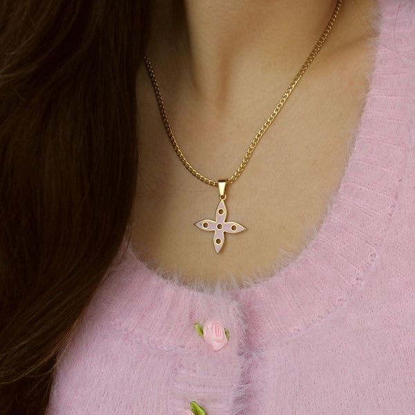 Authentic Big Louis Vuitton Looping  Charm - Necklace
