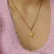 Load image into Gallery viewer, Authentic Medium Louis Vuitton Looping Charm- Necklace