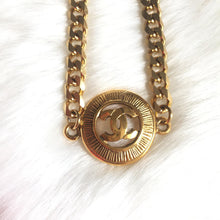 Load image into Gallery viewer, Necklace with Authentic Pendant from CC logos Medallion