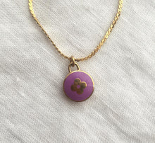 Load image into Gallery viewer, Authentic Louis Vuitton Rosewood Pendant- Necklace