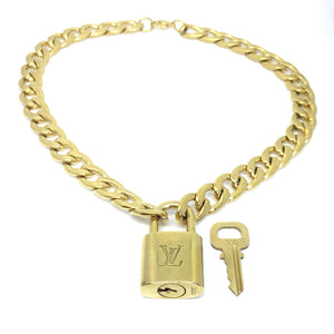 Louis Vuitton Padlock with 'Hip Hop' Necklace