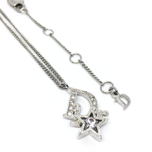 Authentic Dior  Silver Start Necklace