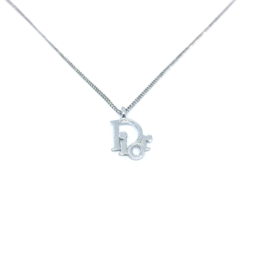 Authentic Dior Necklace Silver