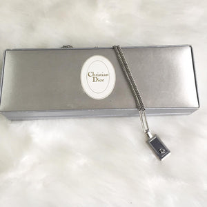 Holiday Collection: Authentic Dior Silver Necklace
