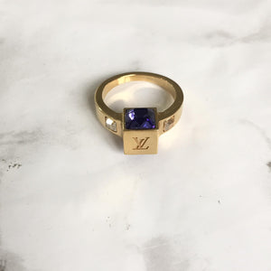 Holiday Collection: Louis Vuitton Gamble Ring