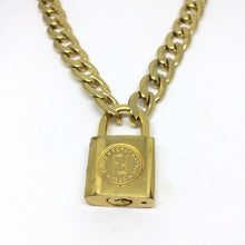 Load image into Gallery viewer, Fendi Padlock Necklace