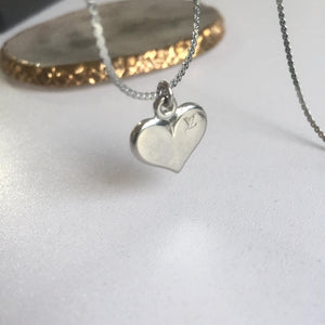 Necklace Reworked Logo Heart