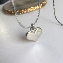 Load image into Gallery viewer, Necklace Reworked Logo Heart