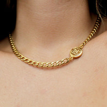 Load image into Gallery viewer, Holiday Collection: Choker Asymmetric with Authentic Pendant