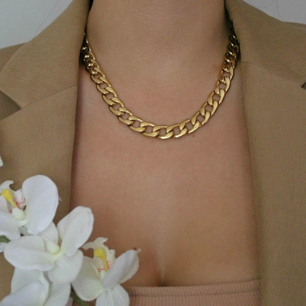 BSL - Chelsea Cuban Chain Necklace