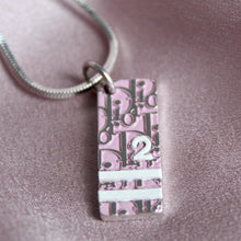 Load image into Gallery viewer, Authentic Dior Pink Pendant Necklace - Boutique SecondLife