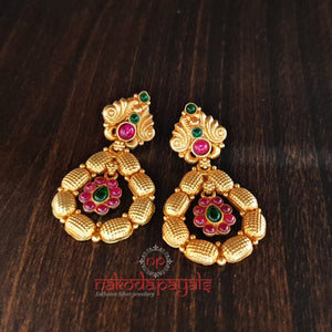 Ethnic Ruby Stud