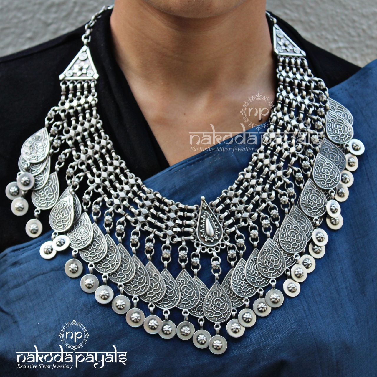 Cherished Charms Tribal Neckpiece