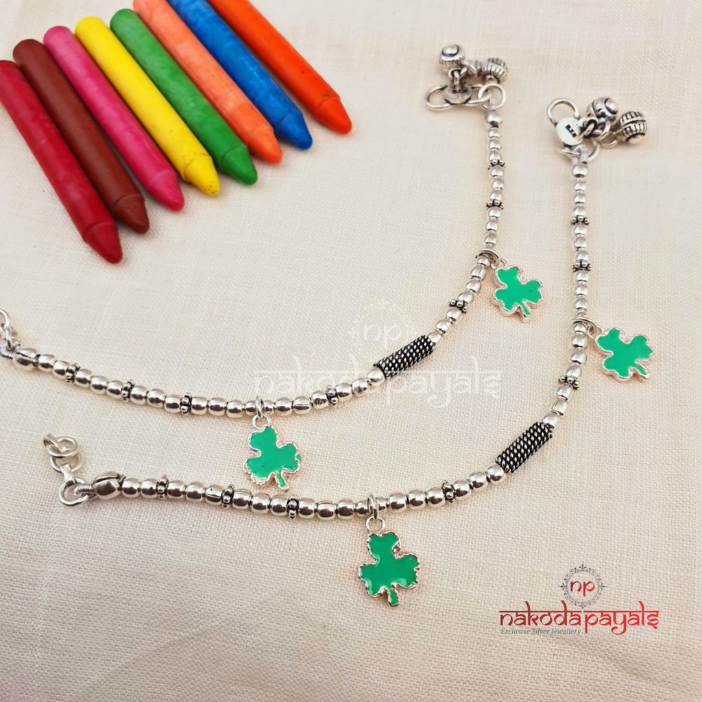 Dazzling Charms Baby Anklets 7 Inches