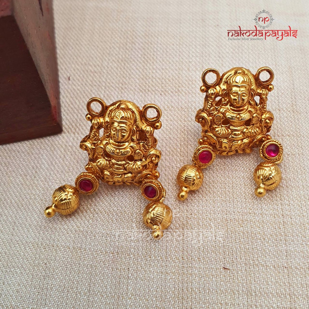 Seated Lakshmi Earrings
