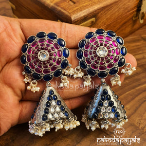 Big Stud Triangle Jhumka