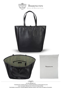 Nantucket Tote Venice Pebbled Grain Faux Leather In Stock