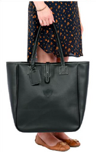 Load image into Gallery viewer, Nantucket Tote Venice Pebbled Grain Faux Leather In Stock