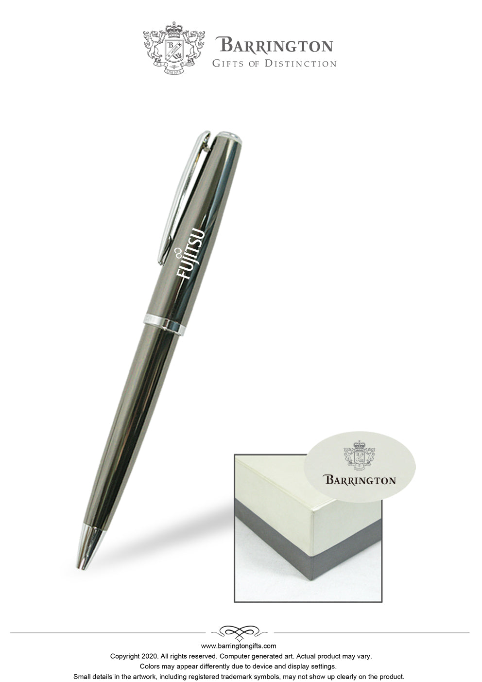 Rivendale Rollerball Pen(Twist Off Cap)