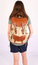 Load image into Gallery viewer, Deluxe Rucksack Backpack