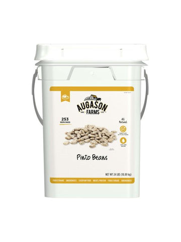Augason Farms Pinto Beans, 4 Gallon Pail