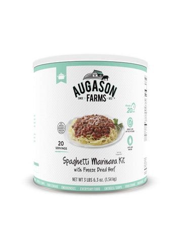 Augason Farms Spaghetti Marinara with Beef