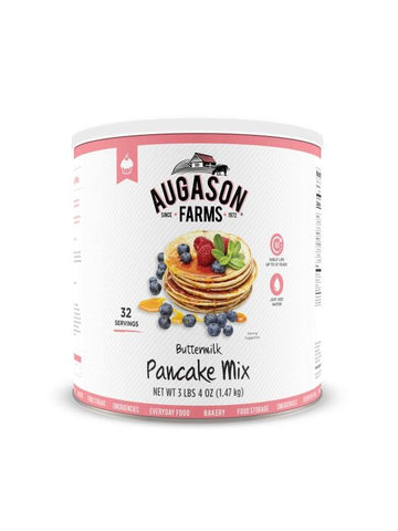 Augason Farms Buttermilk Pancake Mix Large Can