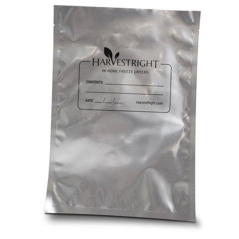 "1 Gallon 10"" x 12"" Mylar Bag - 50 Pack 7mil"