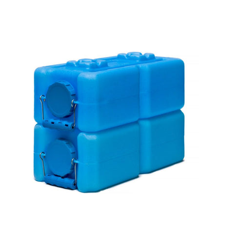 Standard WaterBrick 3.5 Gallon - Blue 2 Pack