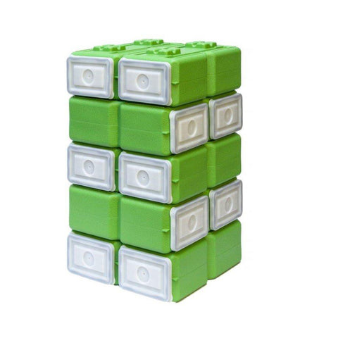 Standard FoodBrick 3.5 Gallon - Green 10 pack
