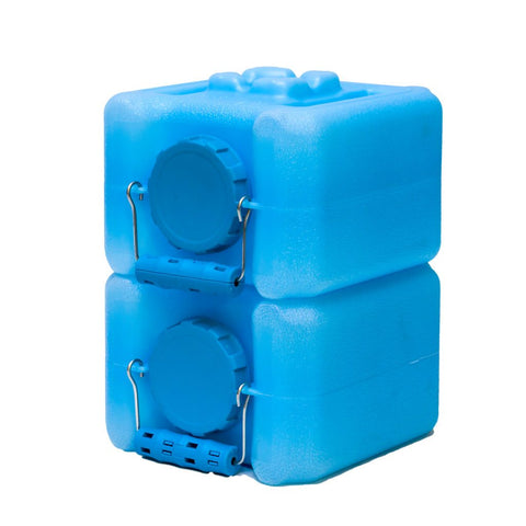 Half WaterBrick 1.6 Gallon - Blue 2 pack