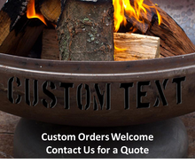 Ohio Flame Liberty Fire Pit with Hollow Base - The Fire Pit Collection