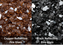 Waterstone Black and White Natural Fire Stone - The Fire Pit Collection