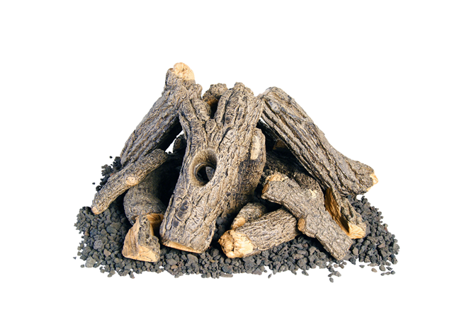 American Fyre Designs Campfyre Log / Wood Chip Set - The Fire Pit Collection