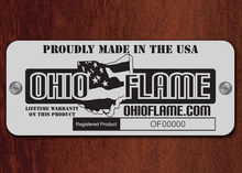 "Ohio Flame ""Peace, Happiness, Tranquility"" Fire Globe - The Fire Pit Collection"