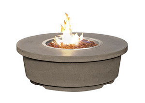 American Fyre Designs Contempo Round Firetable + Free Cover - The Fire Pit Collection