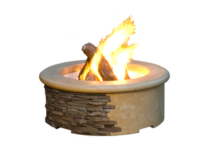 American Fyre Designs Contractor's Model Fire Pit with Electronic Ignition + Free Cover - The Fire Pit Collection